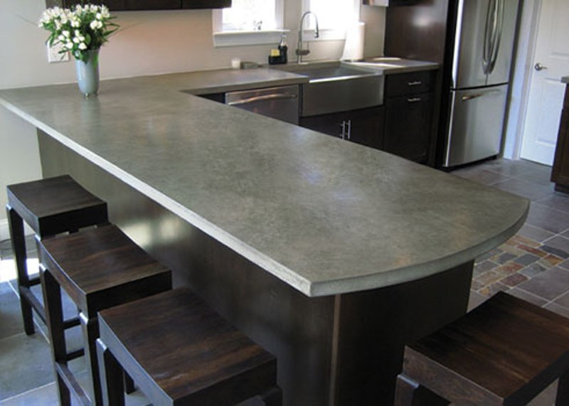 Slate Kitchen Counters comparing natural stone countertops | kitchen remodeler