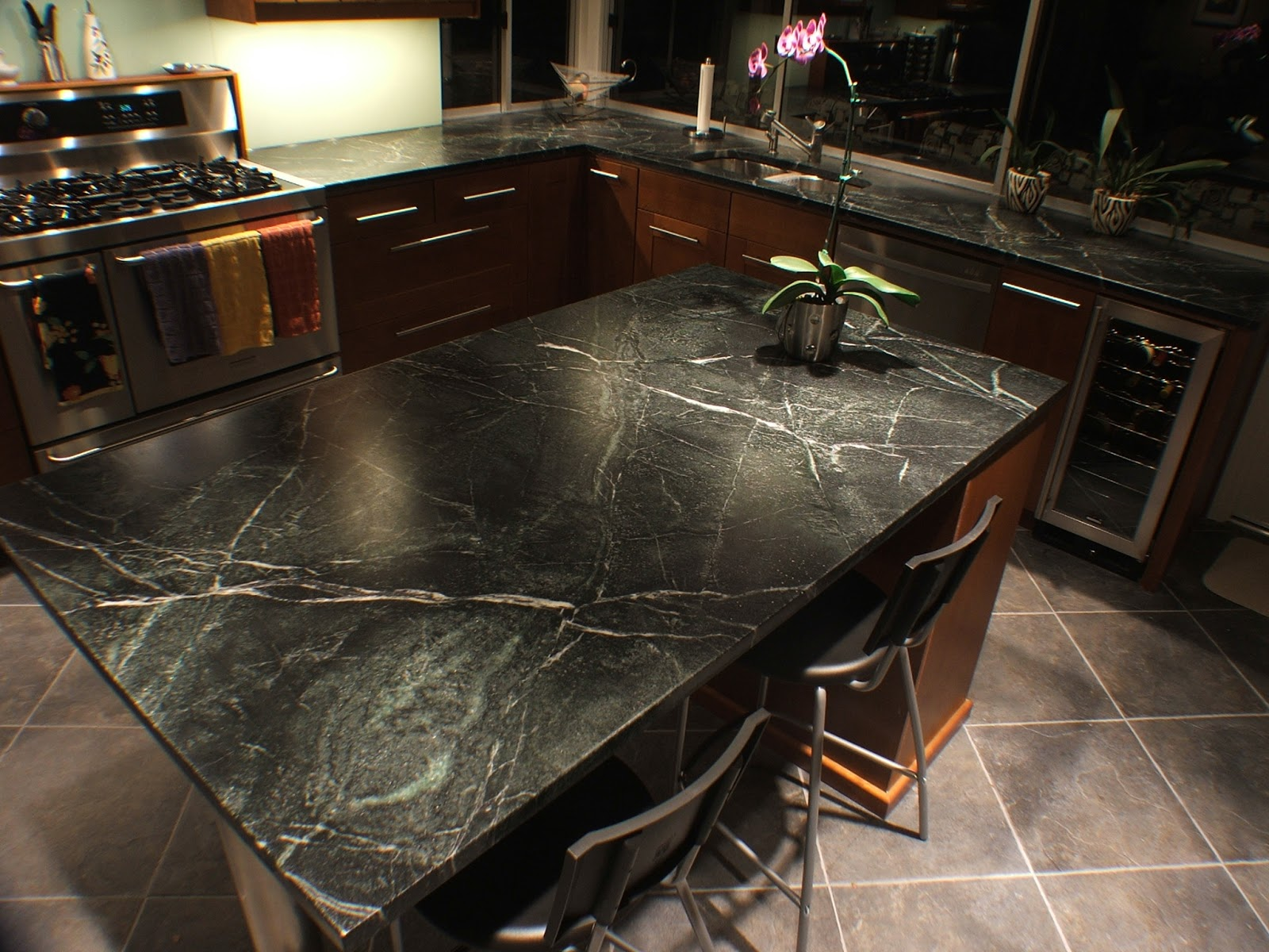 Natural Stone Kitchen Flooring Natural Stone Flooring Cost All About Flooring Designs