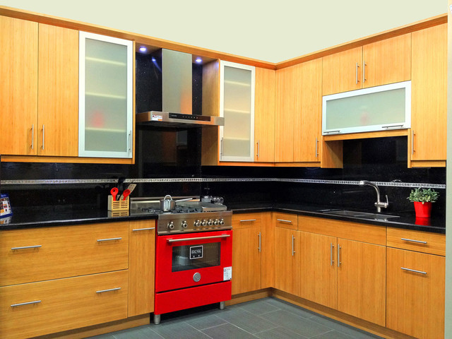 Flat Kitchen Cabinet