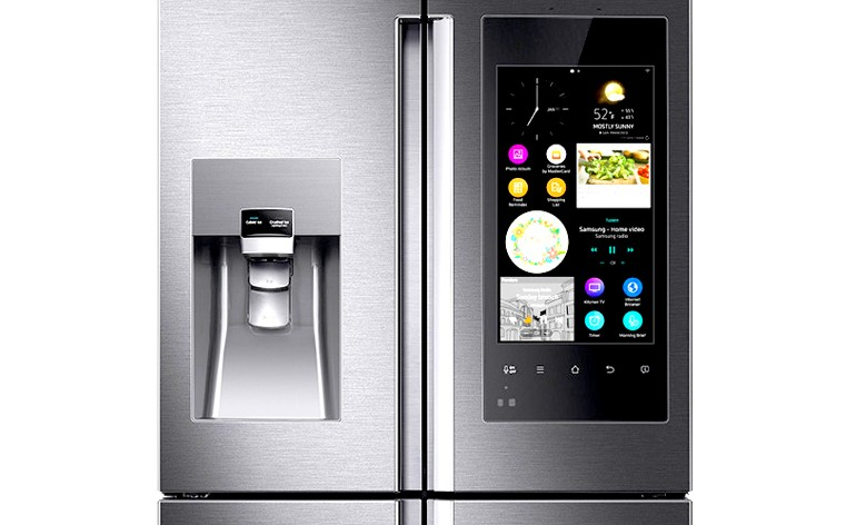 samsung famioly hub kitchen autimation