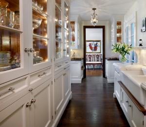 galley kitchen vertical space