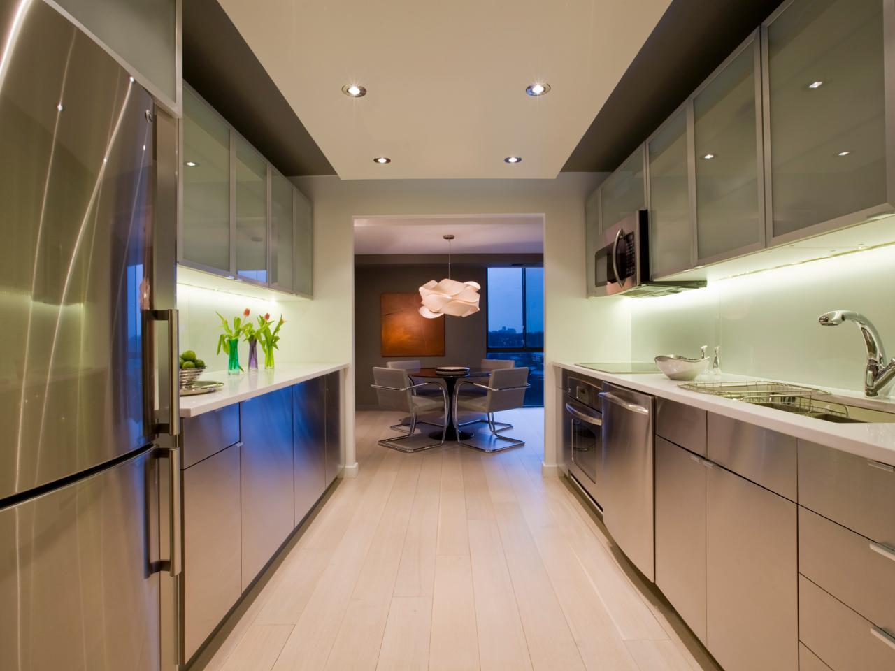 modern galley kitchen 2