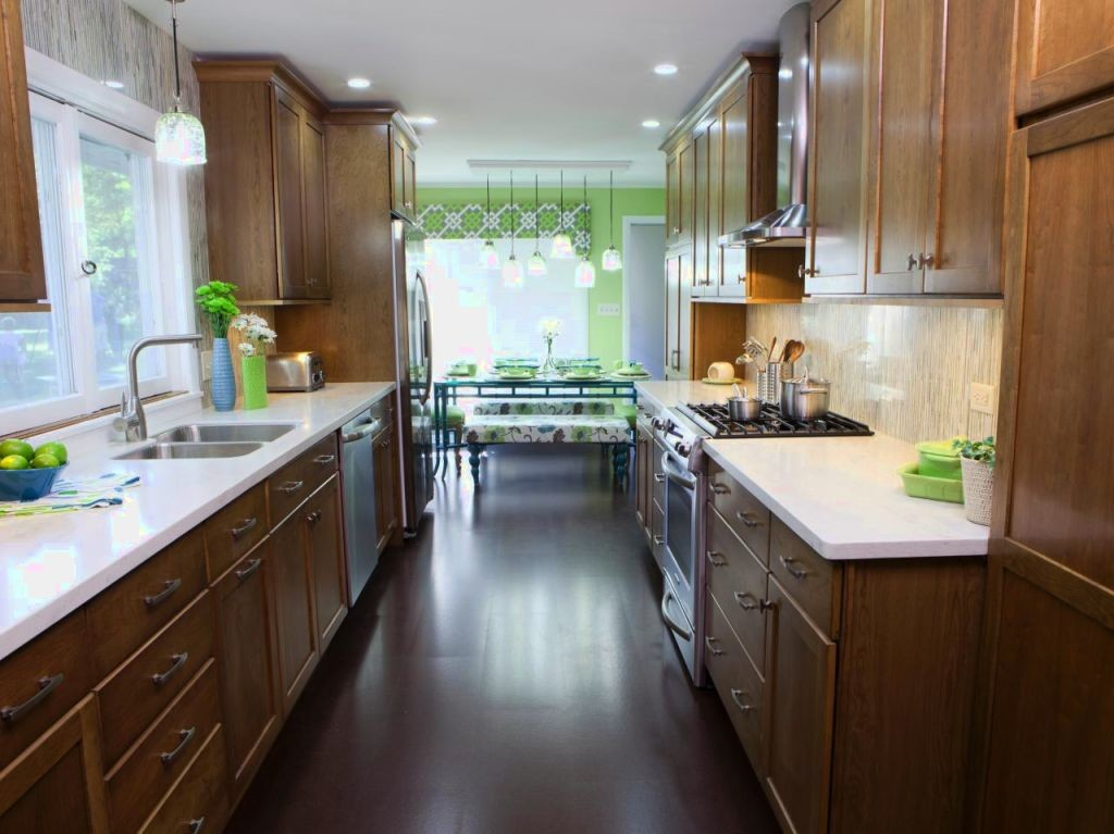 Galley kitchen new design ideas kitchen remodeler for Pictures of galley kitchen remodels